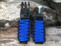 16 mm to 28 mm Two Tone Black Royal Blue Watch Band