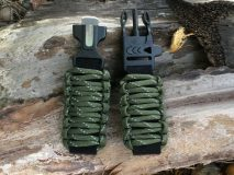 16 mm to 28 mm Army Green Reflective Tracers Survival Watch Band