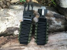 16 mm to 28 mm Two Tone Army Green Black Watch Band