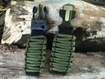 16 mm to 28 mm Army Green Survival Watch Band
