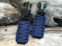 16 mm to 28 mm Navy Blue Survival Watch Band